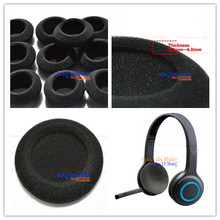 5 Pairs of Foam Ear Pads Foam Cushion Cover For Logitech H600 H 600 Wireless Headset Headphone 10Pcs(China)