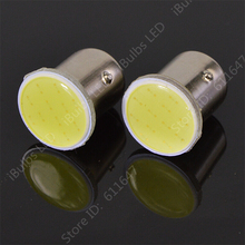 2PCS 2015 New 1157 BAY15D COB 12v Bulb P21/5W Brake Tail Turn Light Auto car Signal Light Parking Backup Bulb Lamp Xenon White