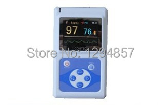 CE FDA Handheld Pulse Oximeter Blood Oxygen SpO2 Monitor  CMS 60D<br><br>Aliexpress