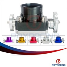 PQY RACING-  NEW THROTTLE BODY 70MM THROTTLE BODY PERFORMANCE INTAKE MANIFOLD BILLET ALUMINUM HIGH FLOW PQY6970