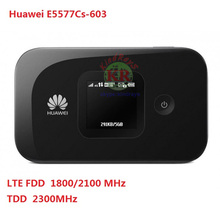 Unlocked Huawei E5577Cs-603 4G LTE Cat4Mobile Hotspot Wireless Router wifi pocket mifi dongle PK E5573,E5776