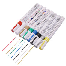 Graffiti Pens Marker Paint Car Scrub Paint Repair Pen Red White Gold Green Blue Silver Yellow Paint Colorful Waterproof Pen(China)