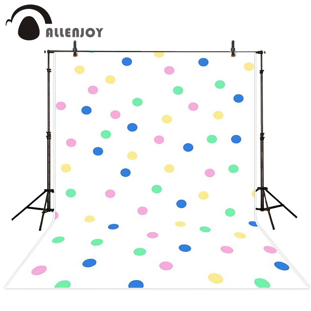 Allenjoy Photography background Color dot geometric pattern princess girl props space backdrops<br><br>Aliexpress