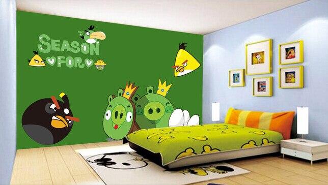 Custom papel DE parede infantil, birds murals for children room boys and girls bedroom  wallpaper <br>