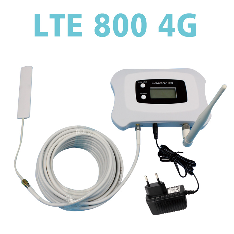 Top quality! LTE 4G 800MHZ phone signal repeater l...