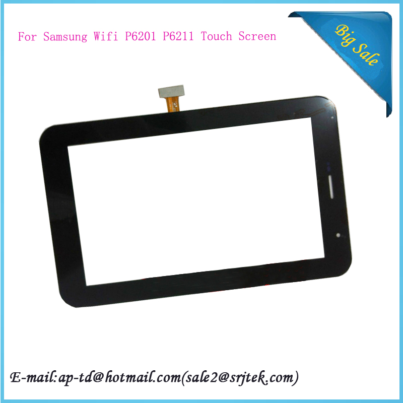 New for Samsung Wifi P6201 P6211 Galaxy Tab 7.0 Plus N Touch Screen Digitizer Sensor Glass Tablet Panel Repairment Parts<br><br>Aliexpress