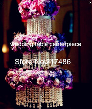 (about  30 working days sent out order )nice  Chandelier Centerpieces  floor standing  crystal  wedding centerpieces for tables