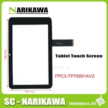 "7"" touch screen for freelander PD10 3G digitizer glass touch panel FPC3-TP70001AV2/AV1 for free shipping"
