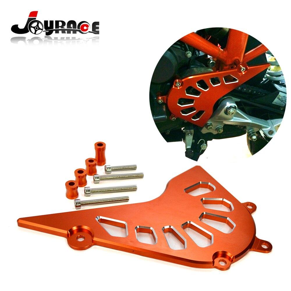 Motorcycle Parts Billet Front Sprocket Guard Chain Cover for KTM DUKE 390 13-15 CNC Aluminum<br>