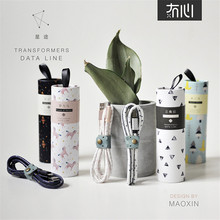 Maoxin 1M 2.4A Leather mobile phone cables usb data sync fast charging charger cable for iPhone 7 6 6s Plus SE 5 5C 5S iPod iPad