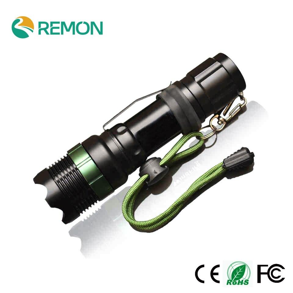 LED Flashlight Q5 / XM-L T6 1000lm / 2000Lumens LED Torch Zoomable Cree LED Flashlight Torch light For 3xAAA or 1x18650<br><br>Aliexpress