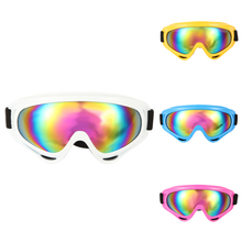 Snow Snowboard Ski Windproof Dustproof Goggles Night Vision UV400 Mirror Motorcycle Skiing Goggles Lens Frame Glasses