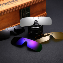 DRESSUUP 2016 Cool TAC Polarized Clip On Glasses Sunglasses Oculos De Sol For Men Women With Special Box lunette de soleil