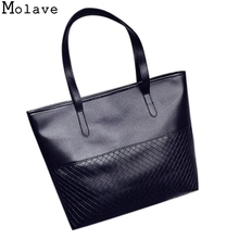 MOLAVE 2017 women Handbag bag female large capacity tote bag fashion shoulder crossbody bag Bolsa Oct1(China)