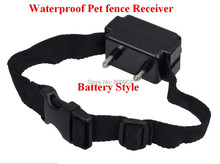 Waterproof Pet Fence Receiver for W227 Replacement Receiver Shock Additional Collar Electronic Pet Fence System model