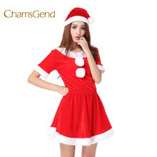 Best Deal Dress Women Fun Christmas Costume Dress Cosplay Girls Xmas Outfit Fancy Party High Quality Gift Aug25 Drop Ship