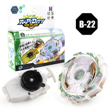 New Spinning Top Beyblade B-22 With Launcher And Original Box Metal Plastic Fusion 4D Gift Toys For Children F4(China)