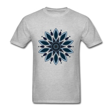 Tshirt New Designs Blue knapweed flower Group Screen Printing T Shirts Cotton Short Sleeve Plus Size