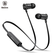 Buy Baseus S07 Neckband Wireless Bluetooth Headphone Earphone Fone de ouvido Sports Headset Stereo Auriculares Earbuds Earpiece for $11.99 in AliExpress store