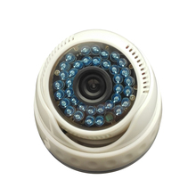 48VPOE HD 960P 1.3MP IP Camera White Plastic Dome Camera Network Indoor Security Camera ONVIF P2P 36IR Night Vision