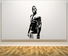 HWHD Paul Pogba Football Player Decal Wall Sticker free shipping os1712