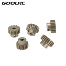GOOLRC M0.6 3.175mm 18T 19T 20T 21T 22T 0.6 Module Pinion Motor Gear for 1/8 1/10 RC Buggy Monster Truck Brushed Brushless Motor