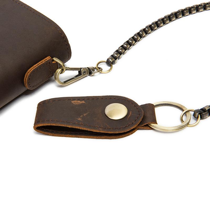 chain leather men wallets (10)