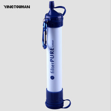 YINGTOUMAN Outdoor Camping Filter Straws Field Purifying Water Environmental Protection Bubbles Water Purifier Water Purifying(China)