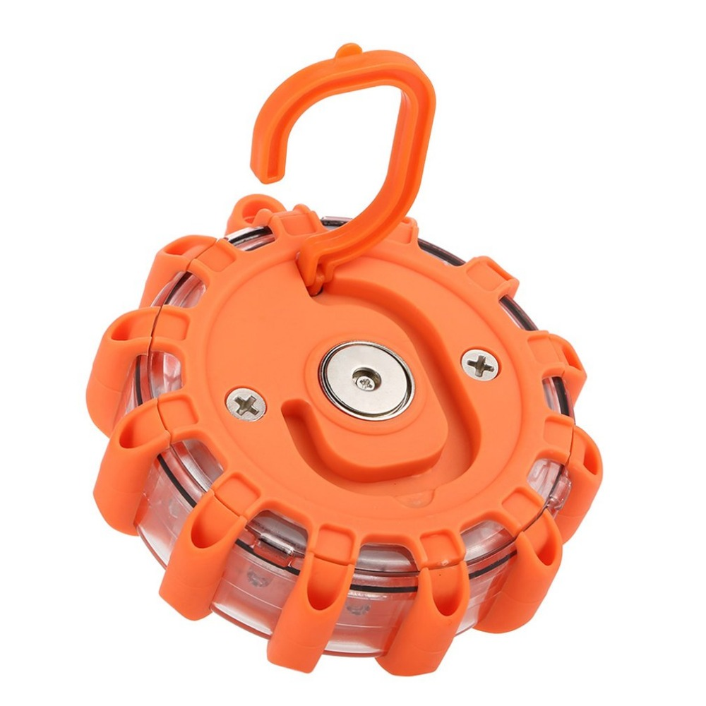 3 Pcs LED Emergency Safety Light Portable Magnetic Flashing Warning Light Roadside Flare Lamp for Car Truck Boat Work Lamp<br>