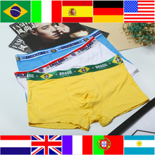 Buy Flags marks Modal Men Boxers Underwear Sexy 7 countries Men Underwears Underpants Comfortable Breathable Male Boxer Underwear