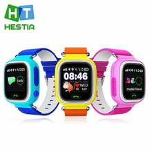 HESTIA GPS Q90 Touch Screen WIFI Smart Watch Children SOS Call Location Finder Device Tracker Kid Safe Anti Lost Monitor