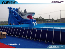 amusement water park,Stents pool play equipment pipe frame pool kit YLW-WP018