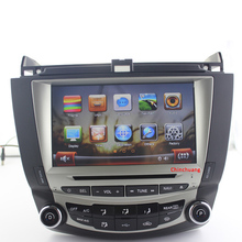Updated ! Car DVD Player for Honda Accord 7 2003-2007 with Mirror Link GPS Radio TV BT SWC PIP, Single / Dual Zone Climate(China)