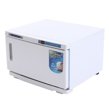 (Ship from EU) 16L UV Facial Towel Sterilizer Cabinet Disinfection Hot Towel Warmer Machine Spa
