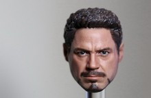Custom 1/9 Scale Tony Stark Head Sculpt For King Art 1/9 Ironman MK43