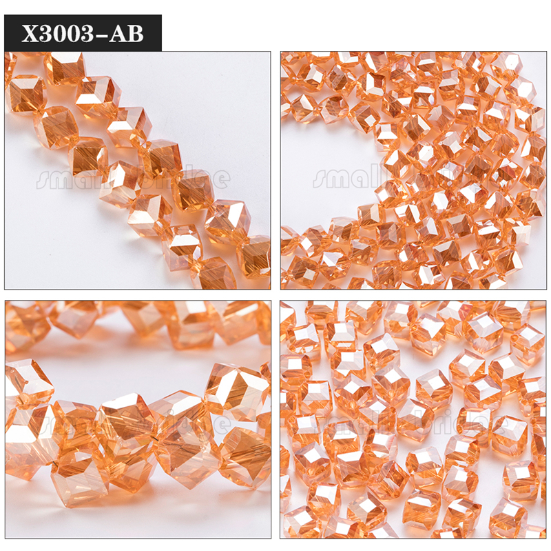 Square Glass Beads (4)