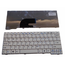 US White New English Laptop Keyboard For Acer Aspire ASone ZG5 AOA150 AOD150 D250 ZG8 523H Kav60 Aspire One P531H AO530(China)