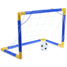 Mini Football Soccer Goal Post Net Set with Pump Folding Kids Sport Toy Funny Indoor Outdoor Games Toys Child Brithday Gift
