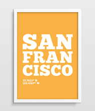 San Francisco Art Print City Print Modern wall Art Print Living Room Decor California USA Poster US State Print picture painting(China)