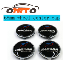 hot selling 4pcs 68mm Car Wheel Center Cover Emblem Auto Wheel Hub Logo Cap for color F10 F20 F30 F35 F31 F34 F32 F33 F18(China)