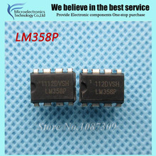 10pcs free shipping LM358 LM358P DIP-8 Operational Amplifiers - Op Amps Dual Op Amp new original(China)