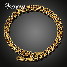 Buy Wholesale Vintage Round Link Chain Necklace Man Women Jewelry Hip Hop Gold Color Plated Chain Necklace for $2.14 in AliExpress store