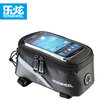 Roswheel 12496 mtb mountain bike bag bicycle bag accessories cycling bags basket pannier bycicle phone case