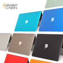 DallowyCabin 2016 NEW Crystal Hard Case Cover Macbook Mac book 11 13 15 Air Pro Retina 11.6 12 13.3 15.4 inch Laptop Cases