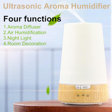 Aromatherapy Diffuser Air Humidifier Night LED Light Lamp Ultrasonic Humidication Air Vacuum Cleaner Essential Oil Mist Maker
