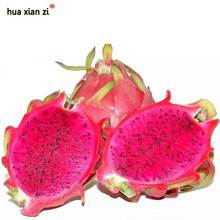 Rare Red Heart Pitaya Seeds Very Delicious Fruit Seed Dragon Fruit Seeds DIY Home Graden 100 Particles / lot