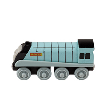 High Quality and Delicate Design educational wooden vehicle toys Blue Spencer Train Fit to standard Tomas railway track set(China)