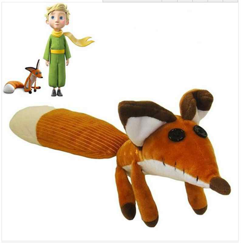 1pcs 45cm The Little Prince plush dolls ,the little Prince and the fox stuffed animals plush education toys for baby(China)