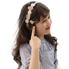 Buy direct from China Girl Headband  Hairband  Girls Flowers Headbands Hair Accessories Children's fashion girl flower crown