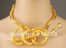 New Christmas Flexible 6mm Bendy DIY Snake Head Necklace Trendy Bendable Twisty DIY Bangle Bracelet ZN09